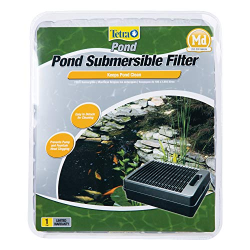 TetraPond Submersible Flat Box Filter For Ponds Up To 500...