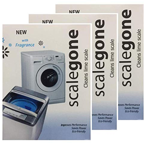 Washing Machine Tub Cleaning Powder | Scalegone | Suitable For All Branded Washing Machine Pack Of 3 | 300 gm