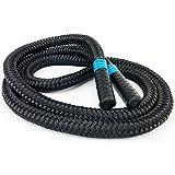 Blackthorn Battle Jump Rope | Pesada Cuerda para Saltar | Peso 1,7 kg | Comba Crossfit, Boxeo e Fitness
