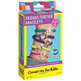 Creativity for Kids Friends Forever Bracelet Craft Kit - Create DIY 6 Friendship Charm Bracelets - Complete Kids Jewelry Kit, 6269000