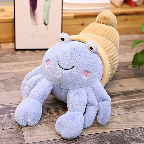 weiqiang Süße Einsiedlerkrebs Puppe Aquarium Puppe Plüschtier Kinder Geschenk 35 cm lang D