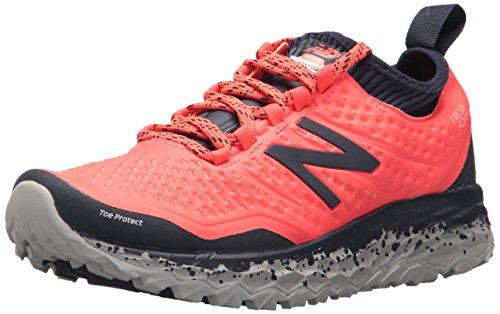 New Balance Fresh Foam Hierro V3, Zapatillas de Running para Mujer, Rosa (Pink/Navy), 39 EU