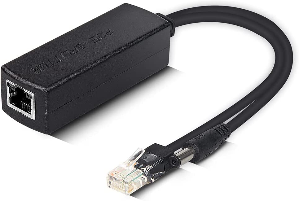 Gigabit Active PoE Max 82% OFF Power Over ethernet to List price Splitter 48V Adapter 1