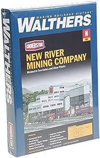Walthers Cornerstone N Scale Model New River Mining Company Kit, 7-1/2 x 5-3/8 x 5-5/8