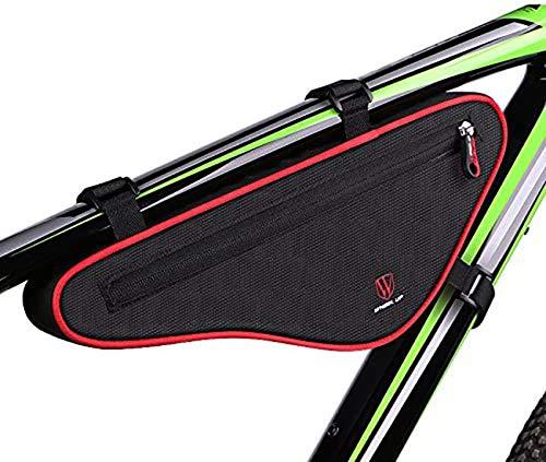 XYHLM Bolsa para Cuadro De Bicicleta, Bolsa para Tubo Superior Delantera para Bicicleta, Bolsa Triangular, Bolsa para Portabultos Delantera, para Bolsa De Almacenamiento De Barra