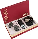 AXE Style Special Combo of Watch, Belt and Sunglass Men's/Boy's Combo - X3502WBS (Set of 3)