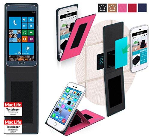 reboon Hülle für Samsung ATIV S Neo Tasche Cover Case Bumper | Pink | Testsieger