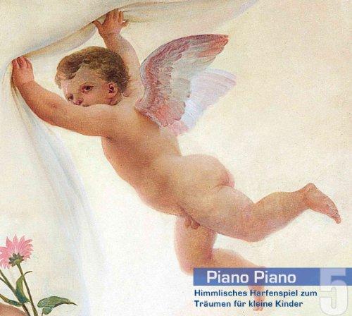 Piano Piano 5 - Harfe. Himmlisches Harfenspiel zum Träumen für kleine Kinder. Ruhige und sanfte klassische Musik für Babys. Einschlafhilfe und Beruhigungsmusik