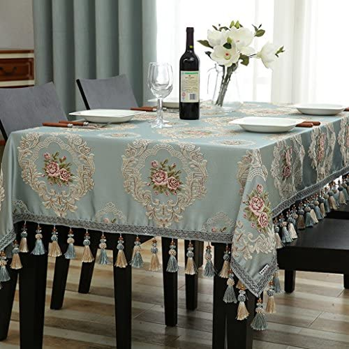 Europ che Tischdecke Rechteck Tischdecke EuropäischenTuch Tee Tischdecken Wohnzimmer Esstisch ( Farbe   C , Größe   90140cm )