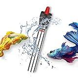 XXHDEE Calentador de Acuario Ajustable, 25W 50W 100W 300W 500W Calentador de Tanque de Peces y Tortugas para termostato de Agua Dulce y Agua de mar de 5L a 350L (Size : 50w)
