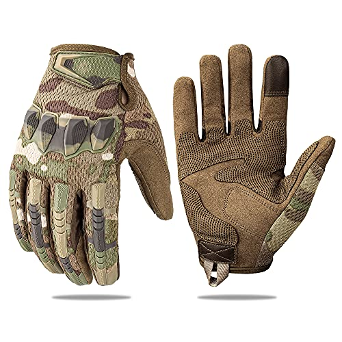 Tactical Gloves, Touchscreen Motorcycle...