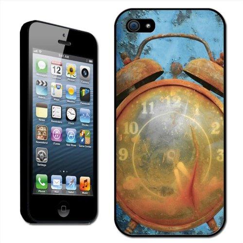 Fancy Een Snuggle Vintage Alarm Klok Clip Op Achterzijde Cover Hard Case voor Apple iPhone 5