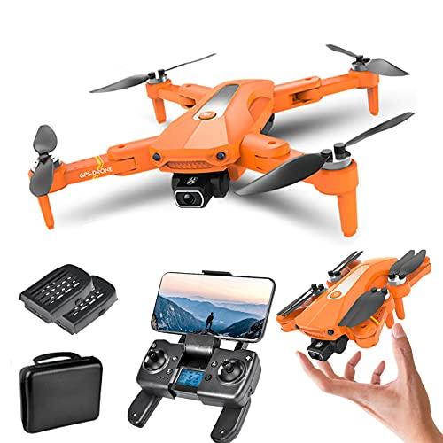 XFTOPSE K80 PRO Drohne mit Kamera 4K ESC, 5G WiFi FPV GPS Drohne mit Bürstenloser Motor, Windwiderstand Stufe 7, Positionierung des Optischen Flusses, Follow Me Funktion, Lange Flugzeit 20 Minuten