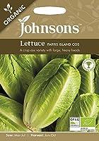 【輸入種子】 Johnsons Seeds ORGANIC Lettuce PARRIS ISLAND COS オーガニック レタス パリス・アイランド・コス ジョンソンズシード