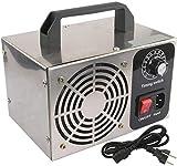 cheaacc Ozonizador Generador de ozono Máquina de ozono Purificador de Aire de Acero Inoxidable Filtro de Aire Esterilización Limpieza Formaldehído 10G 220V