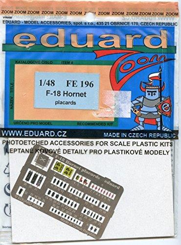 Eduard Accessories fe196 Modélisme Accessoires F de 18 Hornet placards