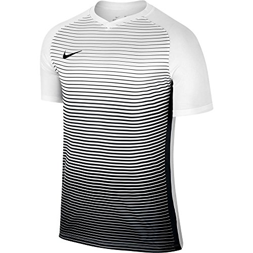 Nike Herren Precision IV Jersey SS Trainingstrikot, Black/White, S