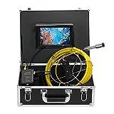 Lixada Fischfinder Unterwasserfischen Kamera 20/30M Abfluss-Rohr-Kanal-Inspektions-Kamera IP68 Wasserdicht (30M) …