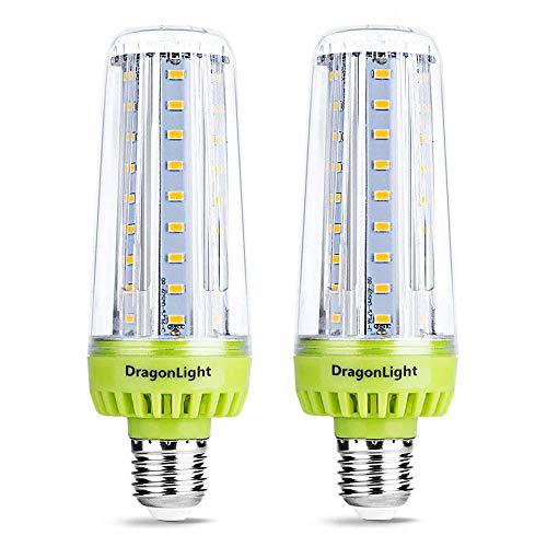 20W Superhelle Mais Licht LED Glühbirnen(Ersetzt 200Watt) - E27 Edison LED Lampe - 6000K Kaltweiß 2320 Lumen CRI 90+ für Haus Garage Werkstatt Büro Hof Beleuchtung (2er-Pack)