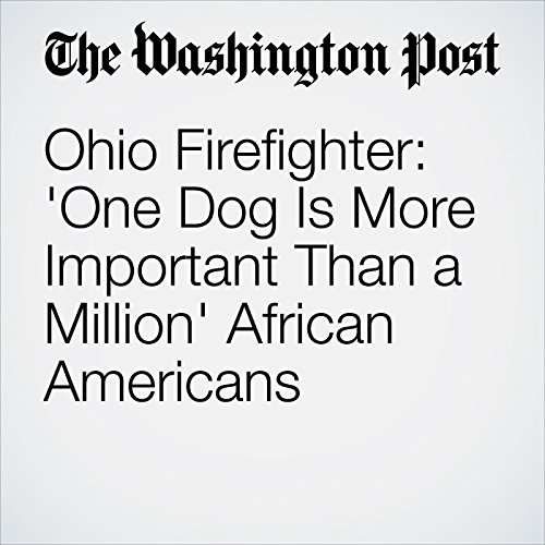 Ohio Firefighter: 'One Dog Is More Important Than a Million' African Americans audiobook cover art
