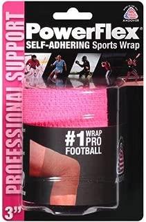 PowerFlex Self-Adhering Sports Wrap, Neon Pink, 3