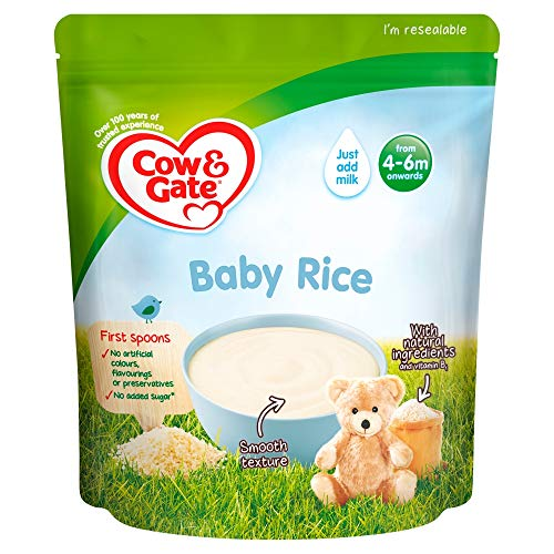 Cow & Gate Baby Rice from 4 to 6 Months Onwards, 100g