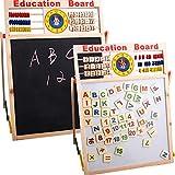 FeiyanfyQ Abacus - Pizarra magnética con números de madera para niños