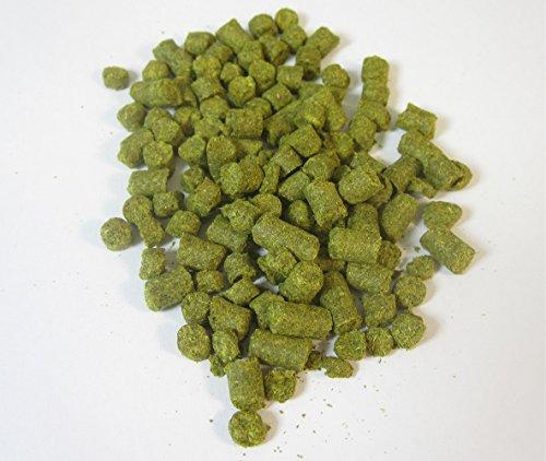 100g AMARILLO Hopfenpellets zum Bierbrauen, Alphasäuregehalt: 8,7%