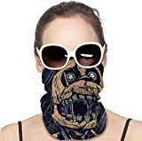 Face Scarf FNAF Springtrap Fan Painting Art Seamless Cover Mouth Mask Bandanas Neck Gaiter Dust Uv Sun Protection for Festivals and Outdoors