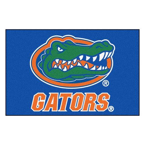 FANMATS NCAA University of Florida Gators Nylon Face Starter Rug