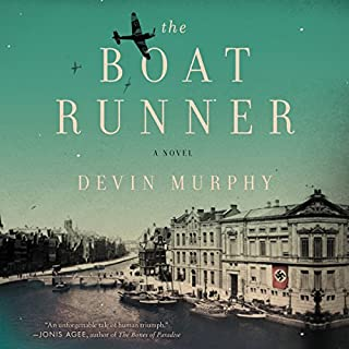 The Boat Runner audiobook cover art