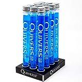 Quivers Blue Raspberry Vodka Shots, 14% ABV, 12 x