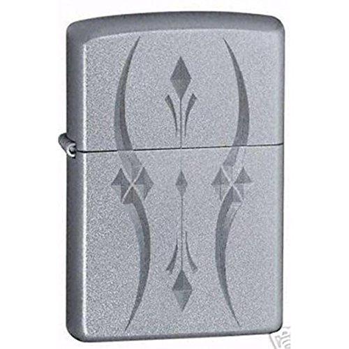 ZIPPO(ジッポー) ライター ダイヤ カーブ シンプル シルバー [並行輸入品]