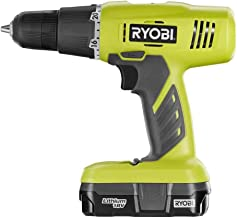 Ryobi P1810 One+ 18V Lithium Ion Drill / Driver Kit (3 Piece: 1 x P209 Drill / Driver, 1..