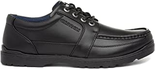 Us Brass Mens Black Lace Up Smart Shoe