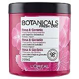 L'Oreal Paris Botanicals Mascarilla Remedio de Brillo, para cabellos opacos o teñidos - 200 ml
