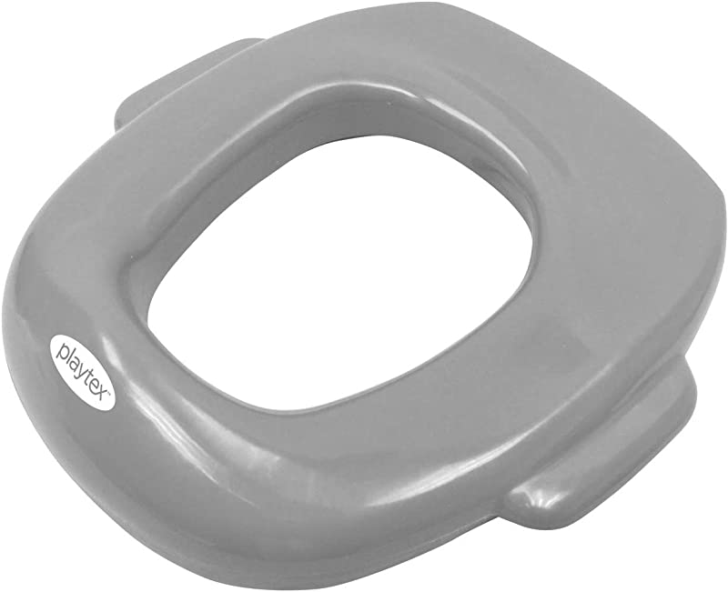 Playtex Air Cushioned Gray Potty Seat Grey