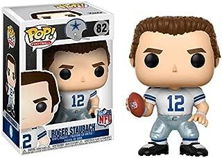 Funko POP NFL: Roger Staubach (Cowboys Home) Collectible Figure