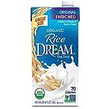 RICE DREAM Enriched Original Organic Rice Drink, 64 Fl Oz, Pack of 8