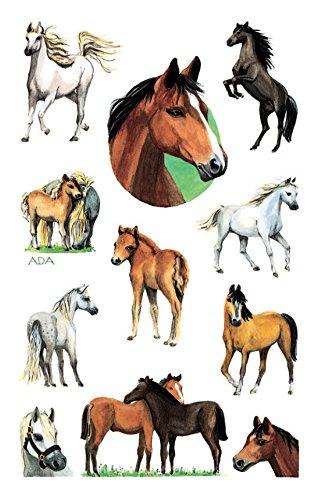 AVERY Zweckform 53483 Kinder Sticker Pferde 22 Aufkleber