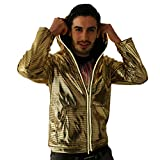 electric styles Light Up Astrohoodie (X-Large, Gold)
