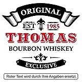 polar-effekt Whiskyglas Personalisiert 330 ml - Geschenk-Idee für Männer - Tumbler Whiskeyglas mit Gravur Name und Jahreszahl mit Motiv Original-Exclusive - 2