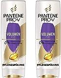 Pantene Pro-V Volumen Pur Pflegespülung für Feines, Plattes Haar, 2er Pack (2 x 400ml),...
