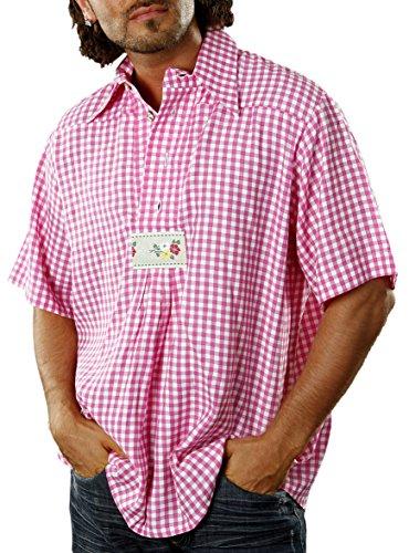 Marco Porta Faschingskostüme Ltd. & Co. KG Costume pour Les Hommes Chemise à Carreaux - Multicolore - 44/46