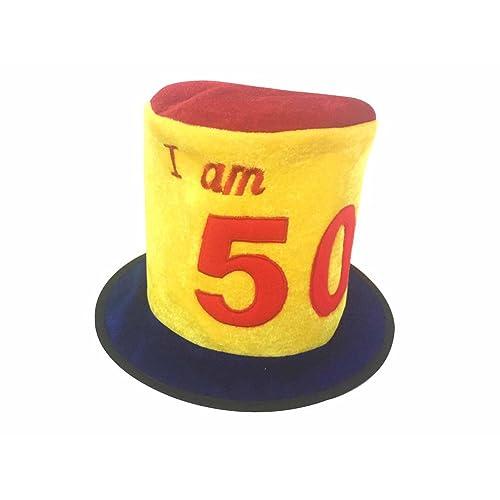 50th Birthday Hat Amazoncouk