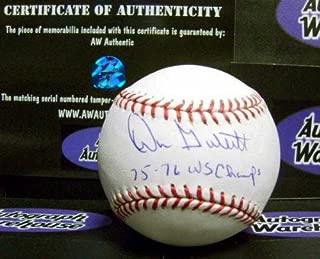 don gullett autographed baseball