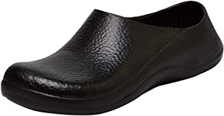 Jiyaru Mens Chef Shoes Slip Resistant Cook Kitchen Work Clogs