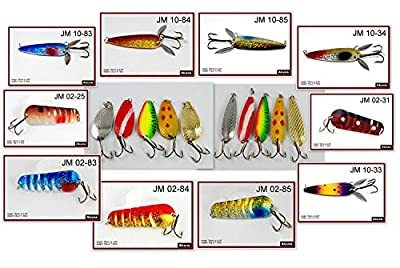 """Akuna Lot of 20 New 3"""" Spoon Fishing Lures from Akuna"""