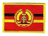 Flaggen Aufnäher Patch DDR - NVA Volksmarine Fahne Flagge