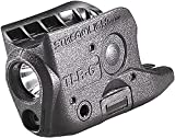 Streamlight 69280 TLR-6 Tactical Pistol Mount Flashlight 100 Lumen Without Laser Designed Exclusively and Solely For Glock 42/43/43X/48 (No Rail or MOS), Black